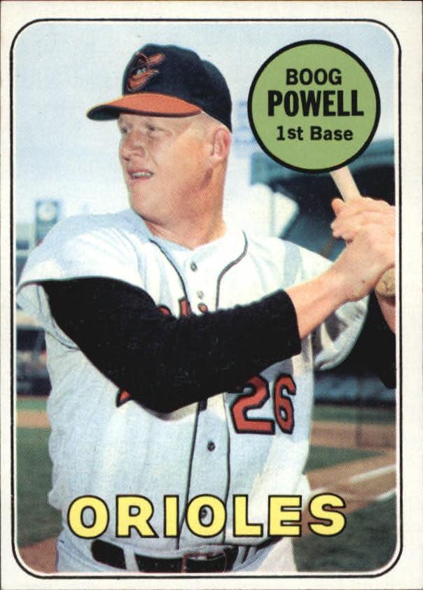 1969 Topps #15 Boog Powell