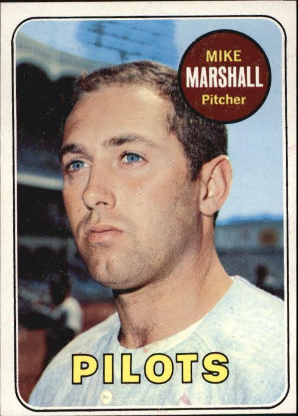 1969 Topps #17 Mike Marshall
