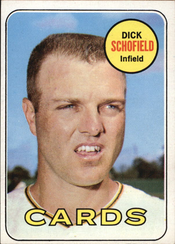1969 Topps #18 Dick Schofield