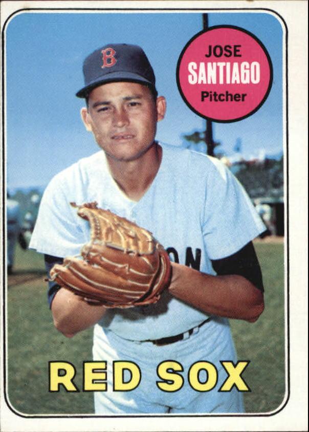 1969 Topps #21 Jose Santiago