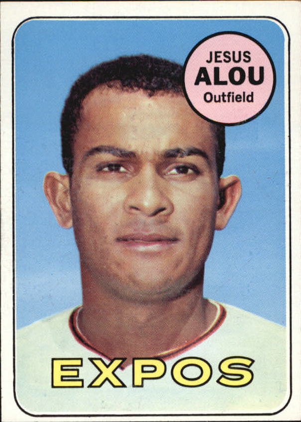 1969 Topps #22 Jesus Alou