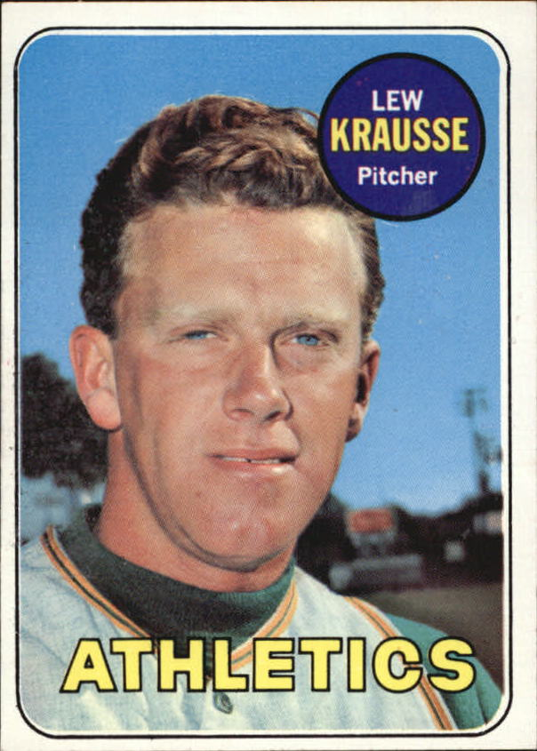 1969 Topps #23 Lew Krausse