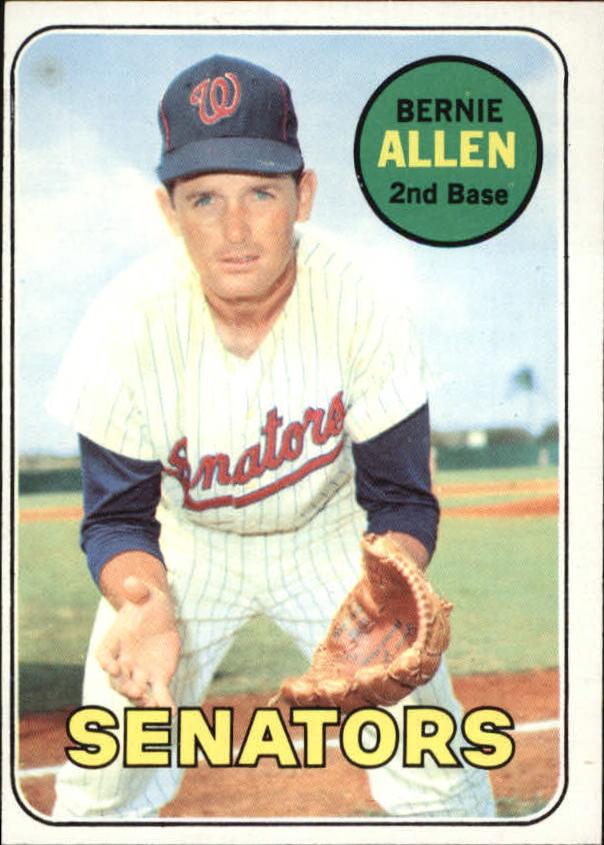 1969 Topps #27 Bernie Allen