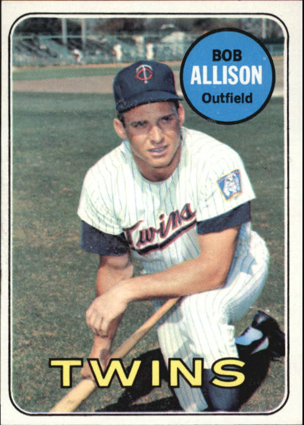 1969 Topps #30 Bob Allison