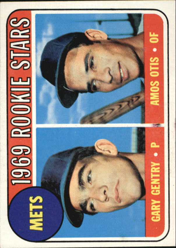 1969 Topps #31 Rookie Stars/Gary Gentry RC/Amos Otis RC