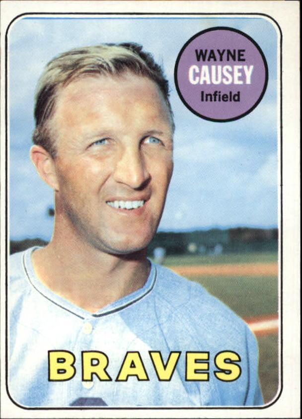 1969 Topps #33 Wayne Causey