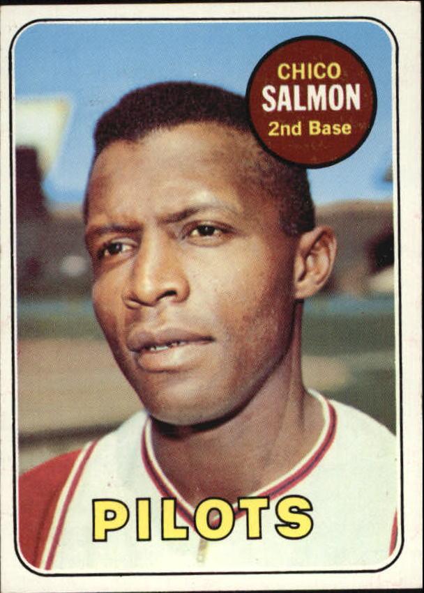 1969 Topps #62 Chico Salmon