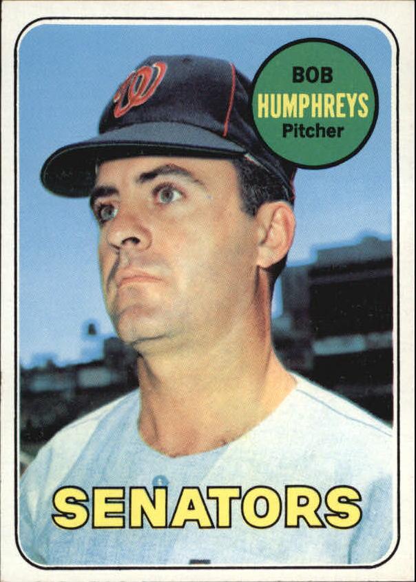1969 Topps #84 Bob Humphreys