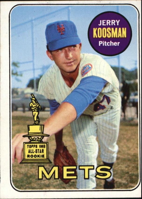 1969 Topps #90 Jerry Koosman