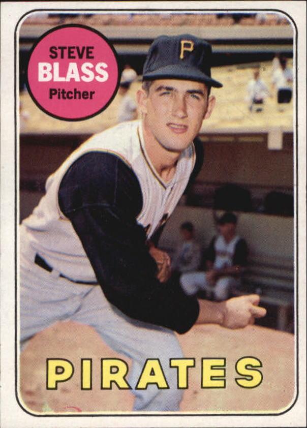 1969 Topps #104 Steve Blass