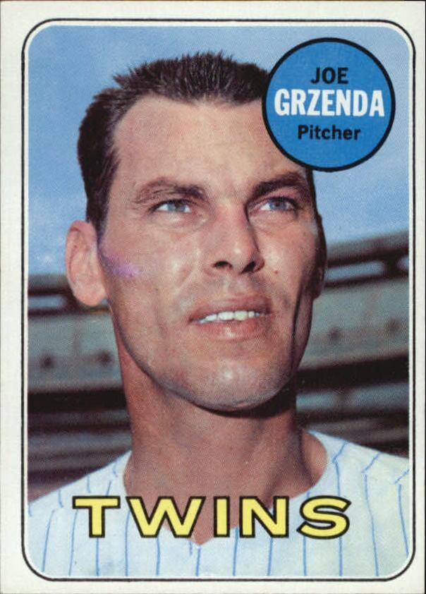 1969 Topps #121 Joe Grzenda RC