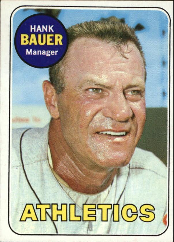 1969 Topps #124 Hank Bauer MG