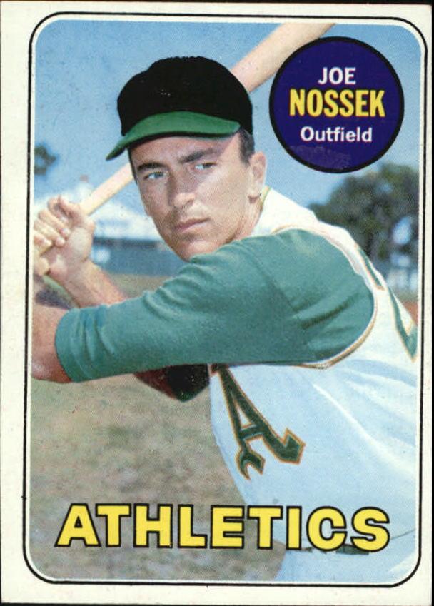 1969 Topps #143 Joe Nossek
