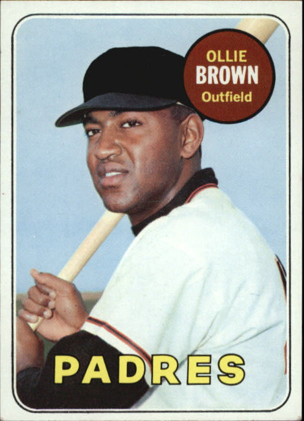 1969 Topps #149 Ollie Brown