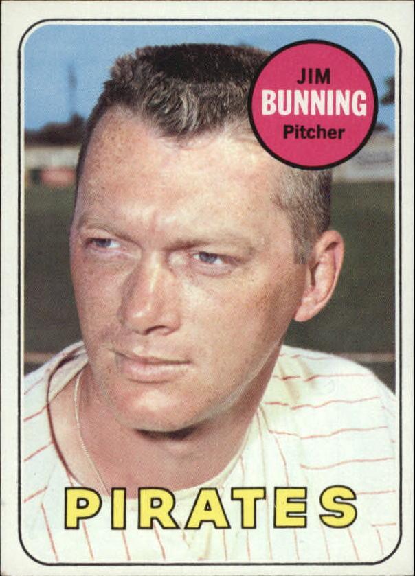 1969 Topps #175 Jim Bunning