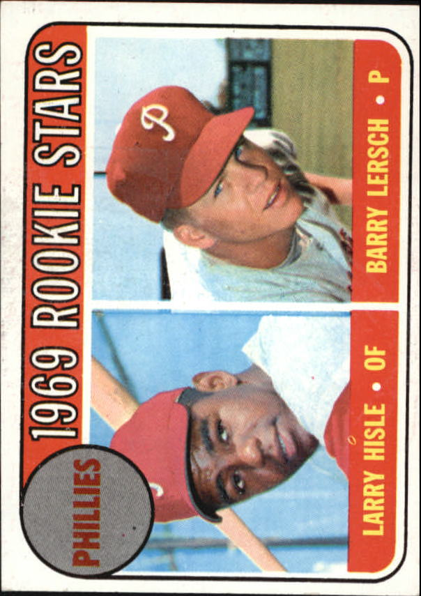 1969 Topps #206 Rookie Stars/Larry Hisle/Barry Lersch RC