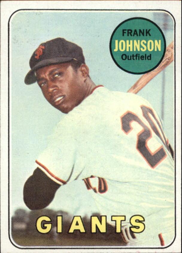 1969 Topps #227 Frank Johnson RC
