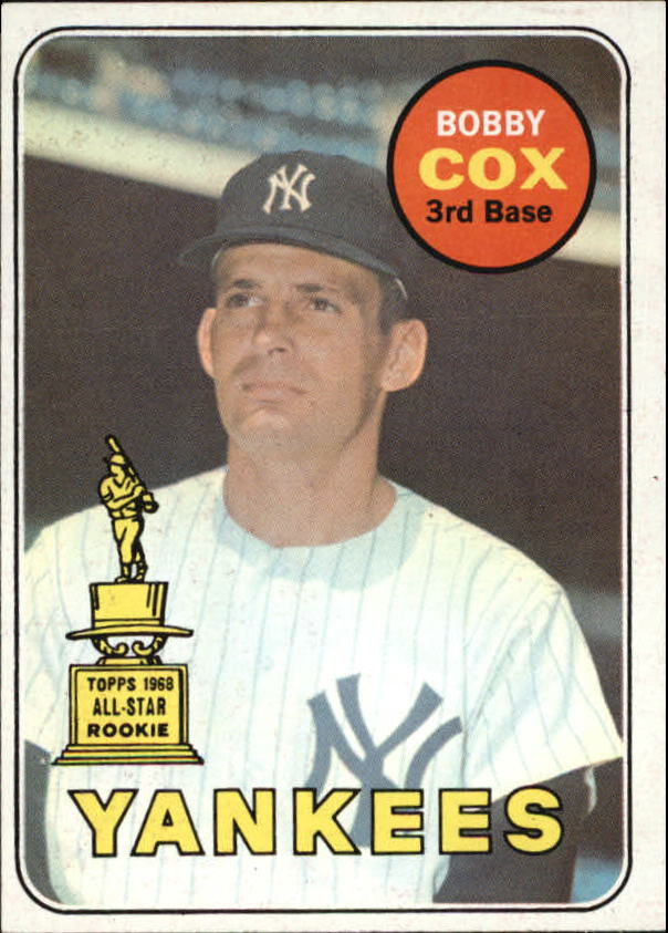 1969 Topps #237 Bobby Cox RC