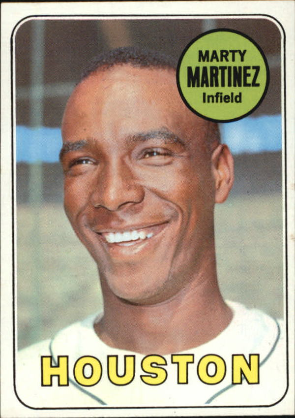 1969 Topps #337 Marty Martinez RC