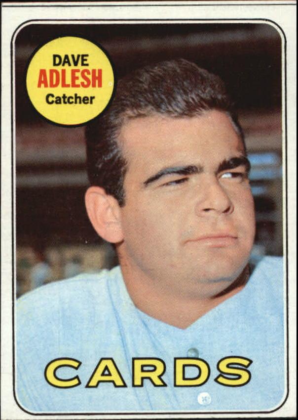 1969 Topps #341 Dave Adlesh