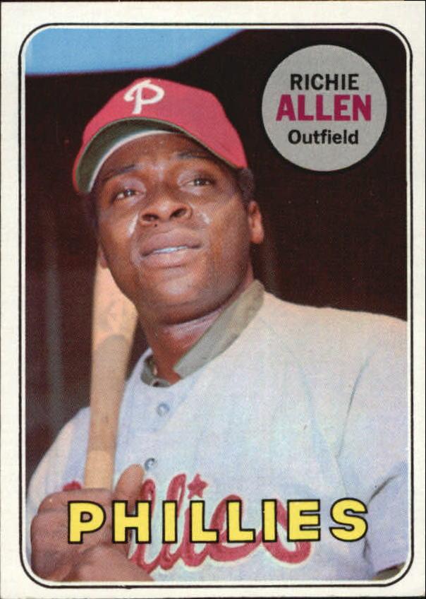 1969 Topps #350 Richie Allen