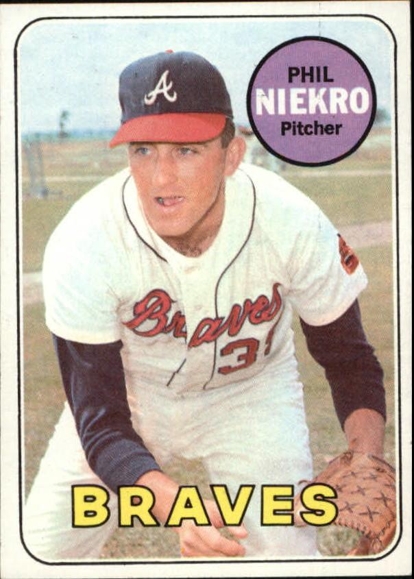 1969 Topps #355 Phil Niekro