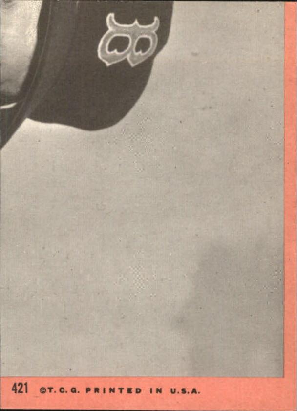 1969 Topps #421 Brooks Robinson AS back image
