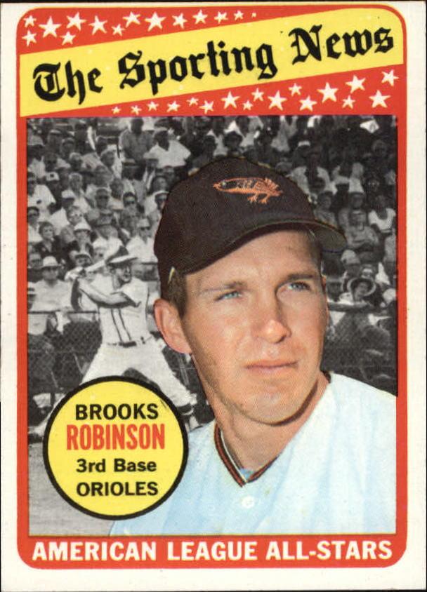 1969 Topps #421 Brooks Robinson AS