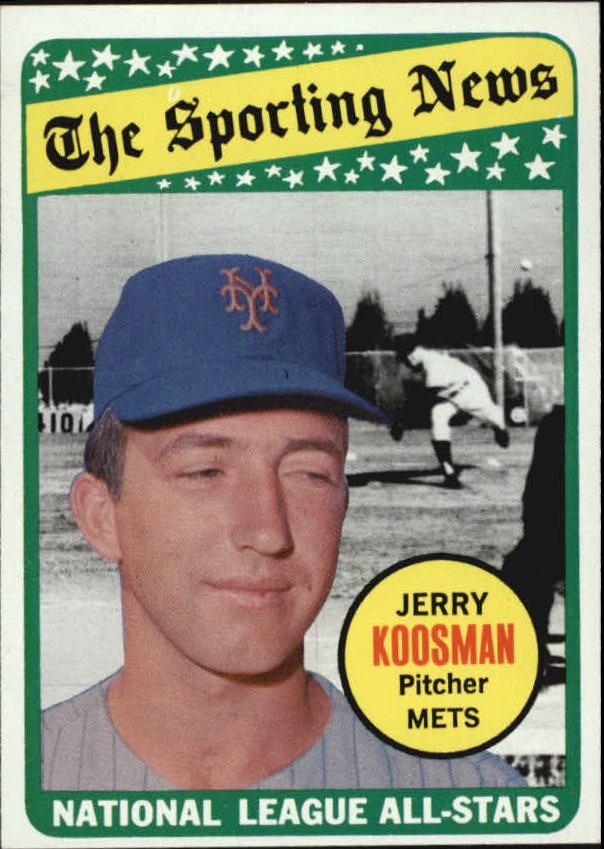 1969 Topps #434 Jerry Koosman AS