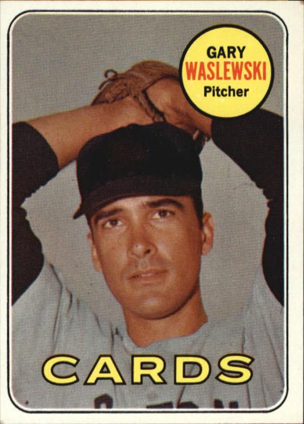 1969 Topps #438 Gary Waslewski RC