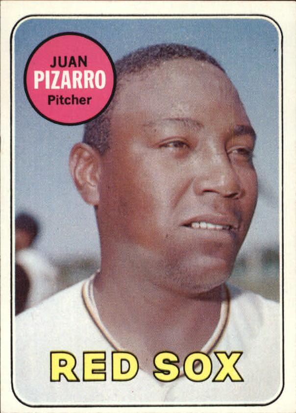1969 Topps #498 Juan Pizarro
