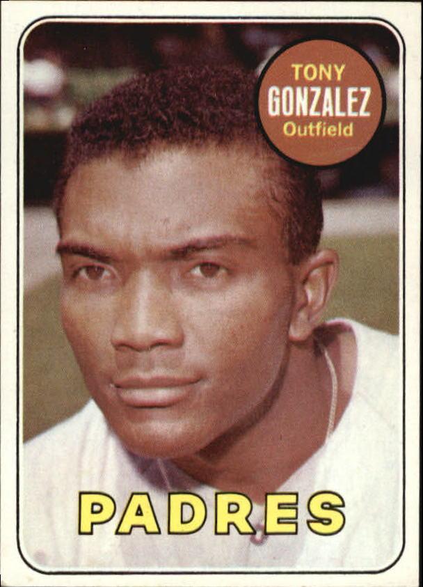 1969 Topps #501A Tony Gonzalez