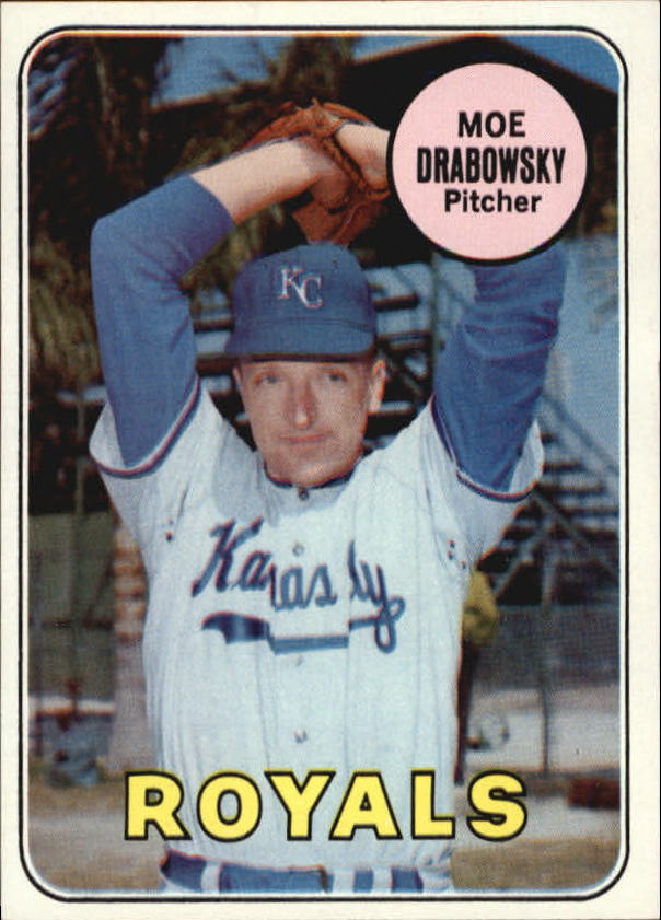 1969 Topps #508 Moe Drabowsky