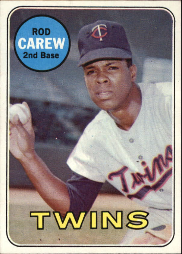 1969 Topps #510 Rod Carew