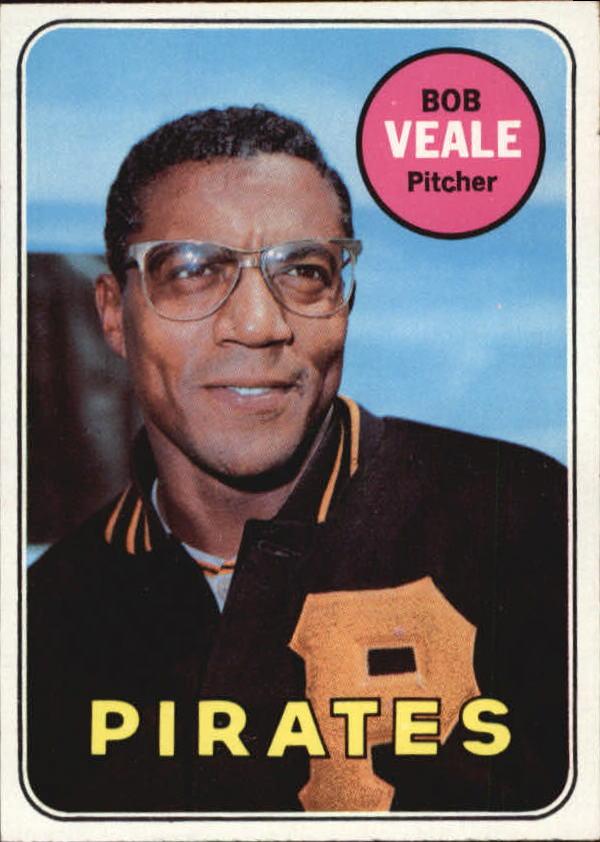 1969 Topps #520 Bob Veale