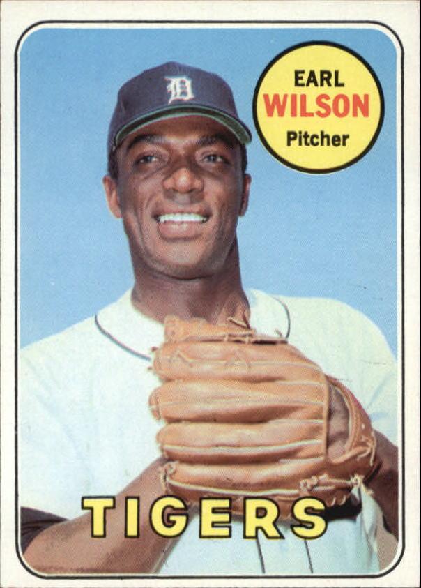 1969 Topps #525 Earl Wilson