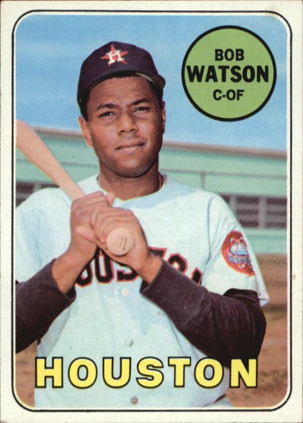 1969 Topps #562 Bob Watson RC