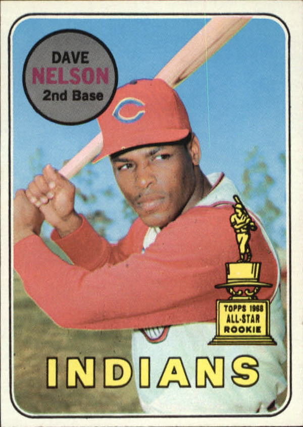1969 Topps #579 Dave Nelson RC