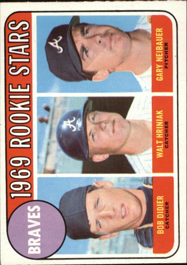 1969 Topps #611 Rookie Stars/Bob Didier RC/Walt Hriniak RC/Gary Neibauer RC
