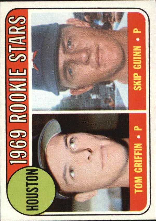 1969 Topps #614 Rookie Stars/Tom Griffin RC/Skip Guinn RC