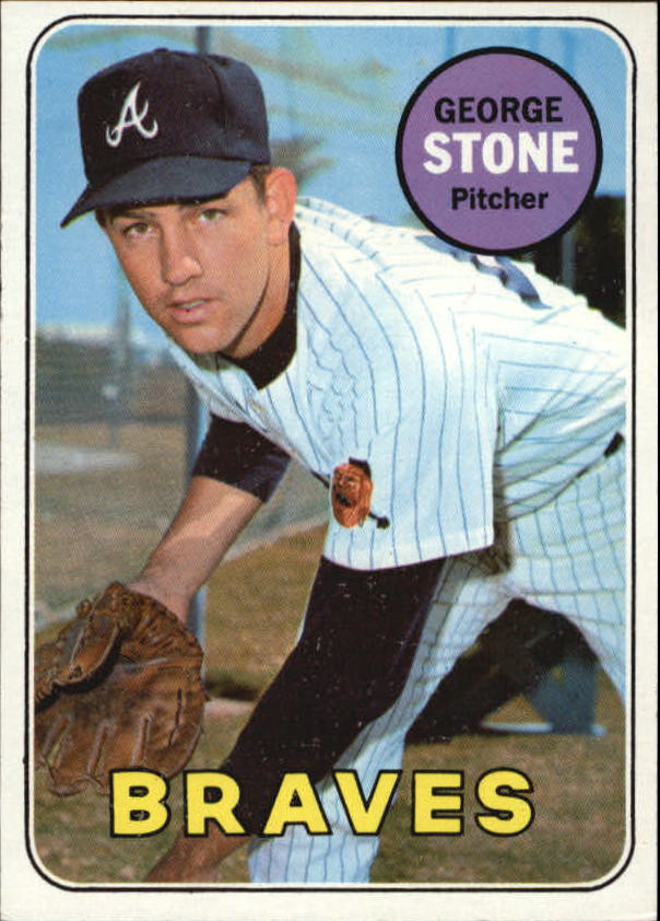 1969 Topps #627 George Stone RC