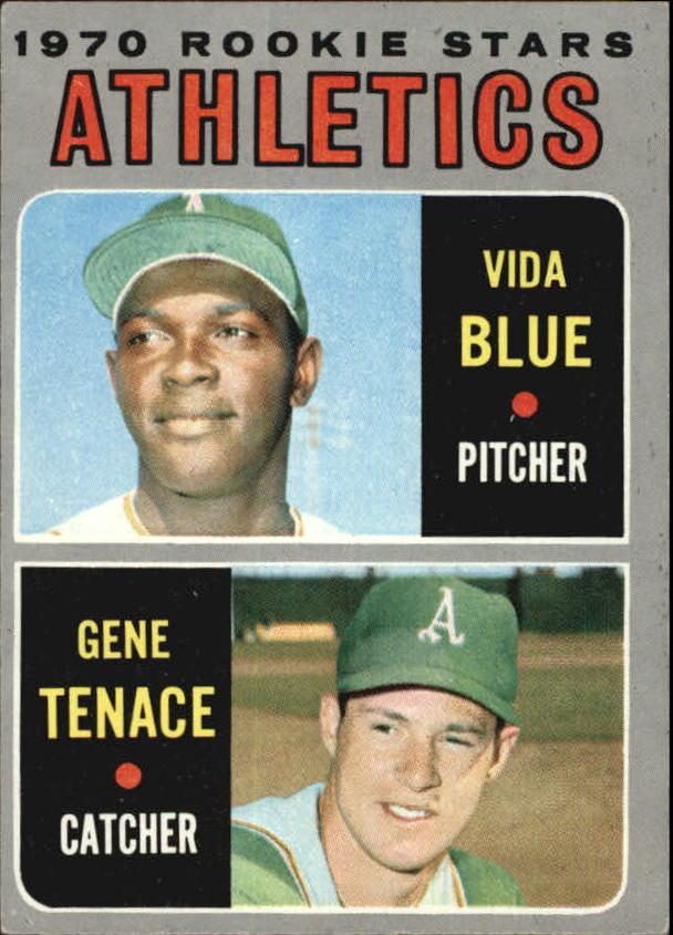 1970 Topps #21 Rookie Stars/Vida Blue RC/Gene Tenace RC