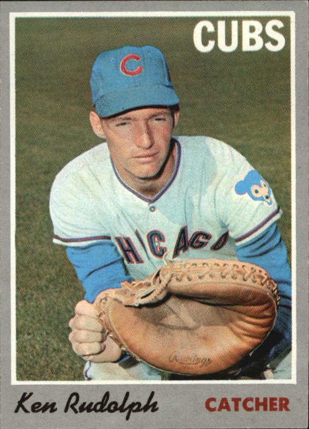 1970 Topps #46 Ken Rudolph RC
