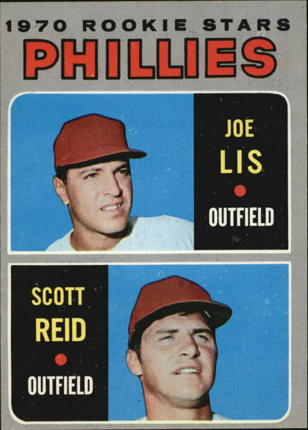 1970 Topps #56 Rookie Stars/Joe Lis RC/Scott Reid RC