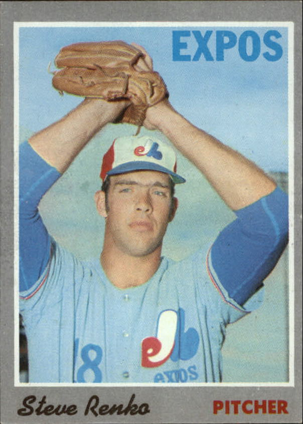 1970 Topps #87 Steve Renko RC