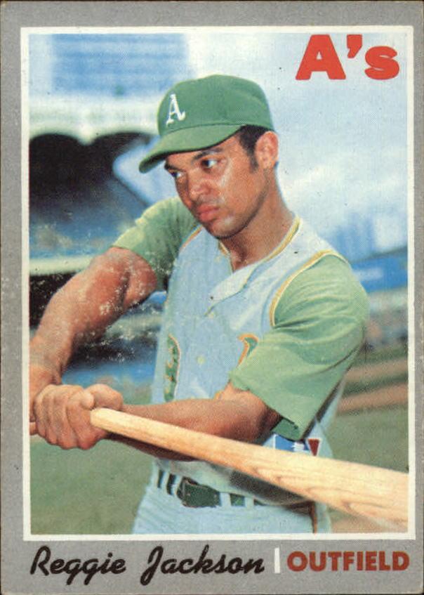 1970 Topps #140 Reggie Jackson