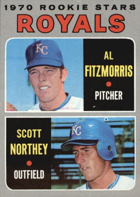1970 Topps #241 Rookie Stars/Al Fitzmorris RC/Scott Northey RC