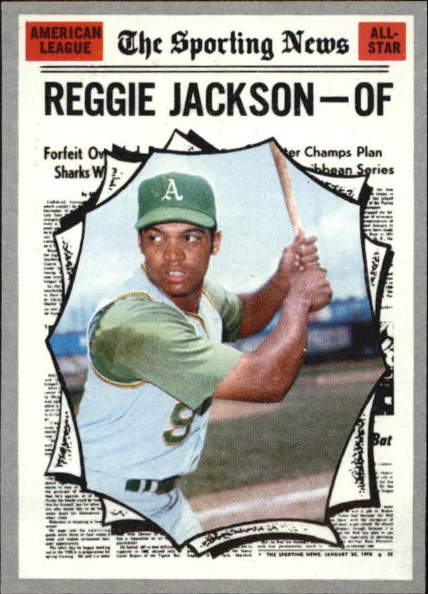 1970 Topps #459 Reggie Jackson AS