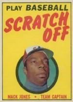 1970 Topps Scratchoffs #9 Mack Jones
