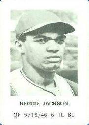 1970 Milton Bradley #11 Reggie Jackson